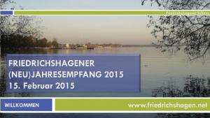Impressionen vom (Neu)-Jahresempfang des Friedrichshagener Schirmes