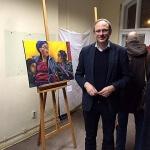 Junge Kunst im historischen Rathaus: Stadtgesichter