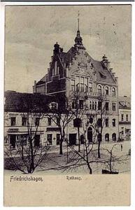 Postkarte Rathaus 1930