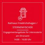 STERNE lotsen im Kiez - Punsch, Dialog und Engagementangebote @ VOR dem hist. Rathaus Friedrichshagen | Berlin | Berlin | Deutschland