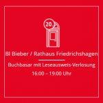 BIBER: Buchbasar mit Leseausweis-Verlosung @ VOR dem hist. Rathaus Friedrichshagen | Berlin | Berlin | Deutschland