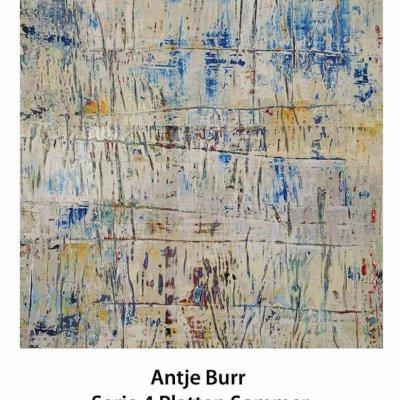 "Aukt.-Nr. 24 | Antje Burr - ""Serie 4 Platten Sommer"" | Einstiegsgebot 350 €"