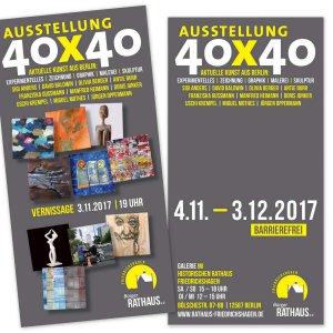 40x40 - Aktuelle Kunst aus Berlin