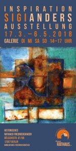 AUSSTELLUNGSERÖFFNUNG: Sigi Anders - Inspiration @ Galerie im hist. Rathaus Friedrichshagen   1. Ebene*   Berlin   Berlin   Deutschland