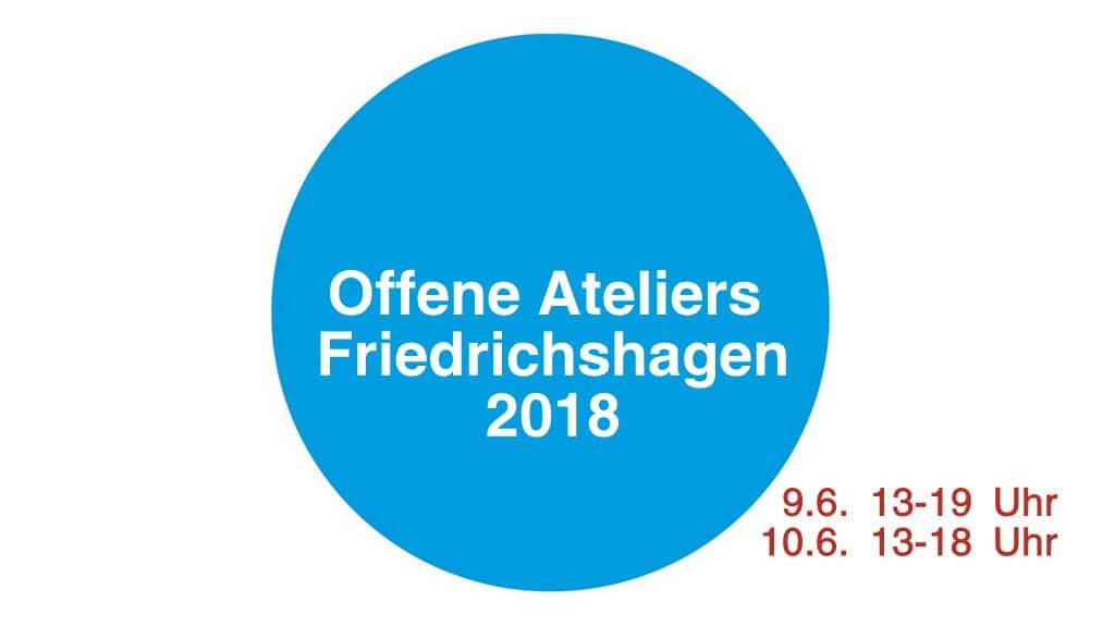 Offene Ateliers Friedrichshagen 2018-Titel