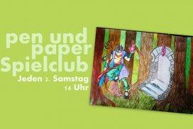 pen und paper Spielclub Titelbild