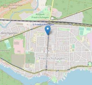 Klick auf Bild öffnet die (externe) Website von OpenStreetMap mit diversen Funktionen wie Routenfinder u.a. | Bild: www.openstreetmap.org/copyright