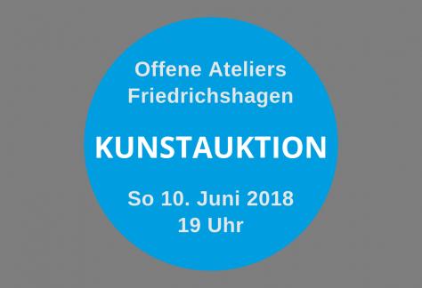 Kunstauktion 2018 Berlin Friedrichshagen / Offene Ateliers