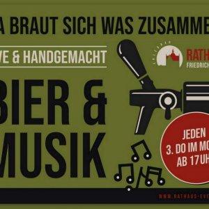 Brauerei Bier und Musik-Titel