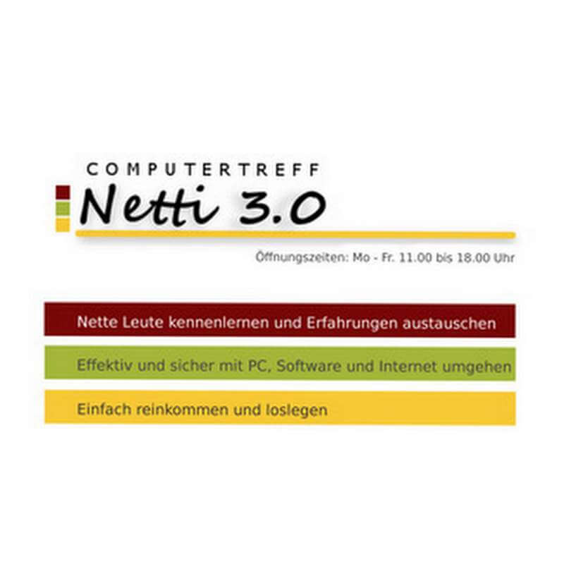 LOGO Netti 3-Computertreff