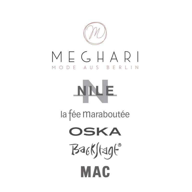 Meghari Tuerschild mit Marken