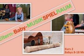 Kurs Eltern-Baby-MusikSpielRaum (Babys 8-18 Mon.) (ABGESAGT bis 19.4.)