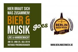 Bier & Musik goes Beer Week