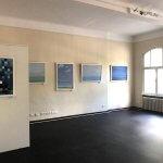 """Ausstellung Jürgen Balitzki Meistens Blau"""" Mai-Juni 2019 im hist. Rathaus Friedrichshagen"""