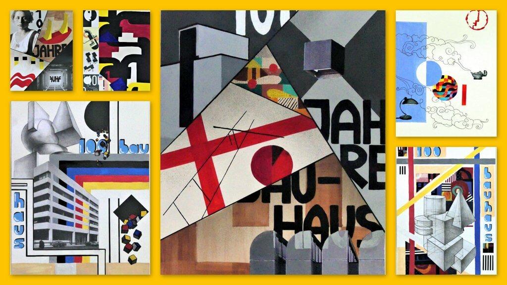 """VERNISSAGE """"Inspiration Bauhaus"""" - Ausstellung"""
