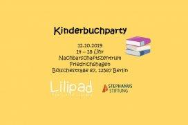 Kinderbuchparty mit Lilipad e.V.