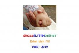 Feierstunde: 30 Jahre Großelterndienst