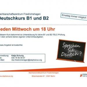 Deutschkurs B1 und B2