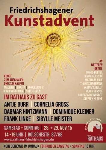 Plakat Kunstadvent 2015